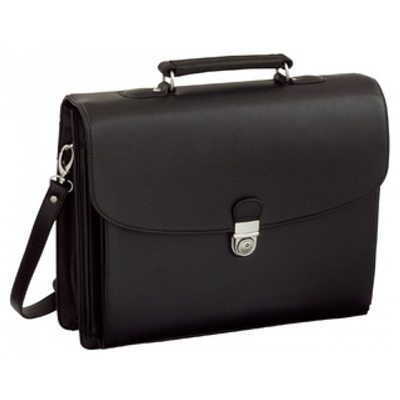 Sac porte documents Alassio  Forte similicuir noir