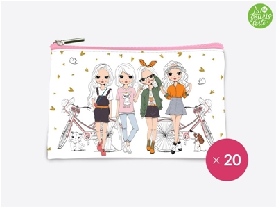 La Souris Verte Trousse Pocket Girls POCK1809