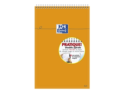 Oxford 5 Blocs Orange A4+ - Blocs - 160 pages - Anneaux  100106297