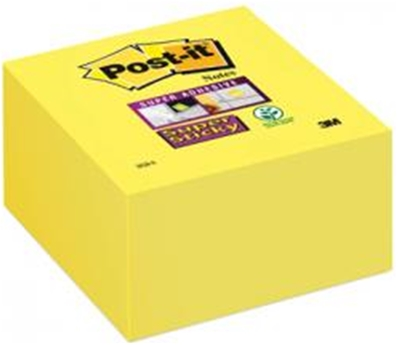 Post-it Bloc-note cube Super Sticky Notes, 76 x 76 mm 2028-S
