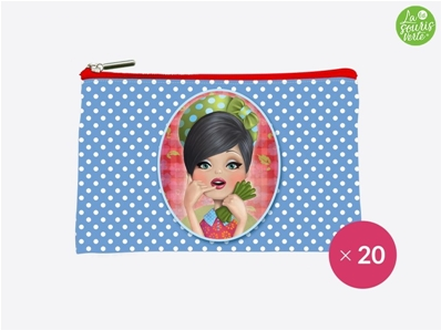 La Souris Verte Trousse Pocket Miss POCK1807