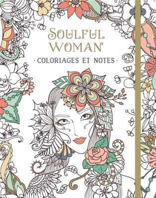 Paperstore Coloriages Et Notes - Soulful Woman 2051024