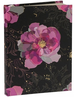 CAHIER A5 MIDNIGHT ROSE TURNOWSKY 6533