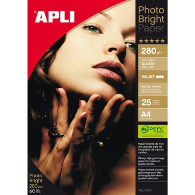 Agipa Papier photo bright PRO, A4, 280 g/m2, brillant 4458