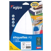 Agipa Etiquettes Multi-usages 38.5 mm x 65 mm 114019