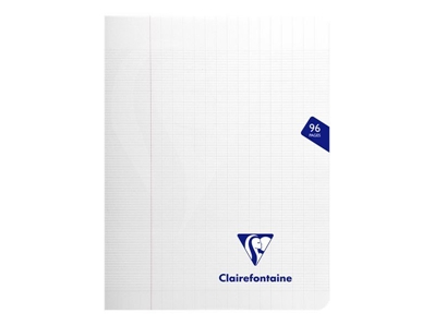 Clairefontaine Cahier Mimesys incolore - 17 x 22 cm - 96 pages Seyes 303741C