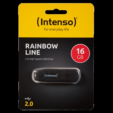 Intenso RAINBOW LINE - Clé USB 16GB - Sous Blister